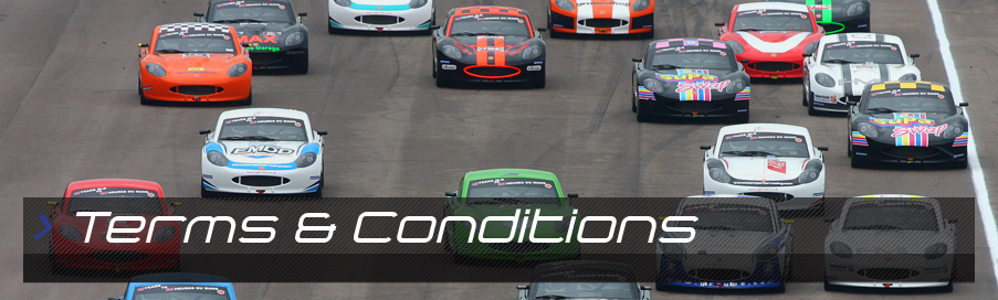 Junior Race Car Academy - Terms & Conditions